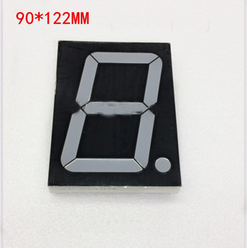 Free Ship brand new 10pc Common anode 4inch digital tube 1 bit digital tube display Red digital led tube Factory direct