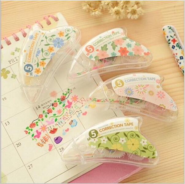 3pcs/lot New Lace flower roller correction tape Masking tapes