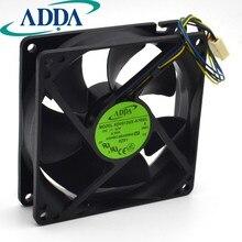 92mm 90mm PWM 12V ventilador a estrenar para ADDA AD0912UX-A7BGL 9225 92mm 3900RPM 50CFM CPU ventilador de refrigeración