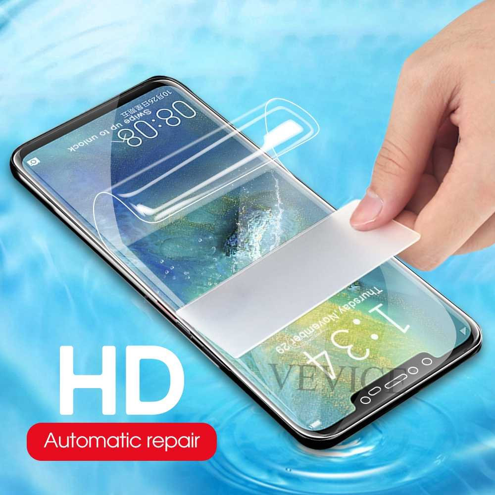 New 9D Full Cover Soft Hydrogel Film For Huawei Mate 20 Lite Screen Protector For Huawei Honor 10 Mate 20 Pro Not Tempered Glass