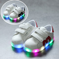 Новый Малыш Кроссовки Девушки Lumineuse Chaussure Enfant Детские Тренер Дети Мальчики Led Разноцветное Освещение Повседневная Кроссовки Shoes 930E