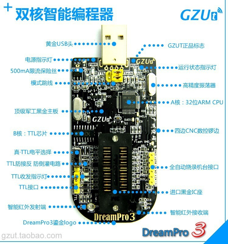 DreamPro3-DreamPro2-Offline-copy-motherboard-BIOS-SPI-FLASH-25-USB-programmer-writer-Adapter-150mil-and-209mil (2)