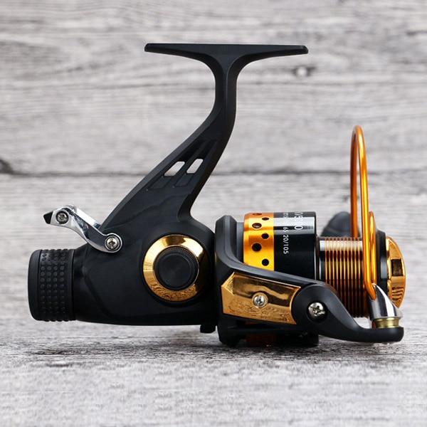 Front Rear Brake Carp Saltwater Freshwater Power Metal Hand Wheel Fishing Reel 5.2:1 Speed YS-BUY