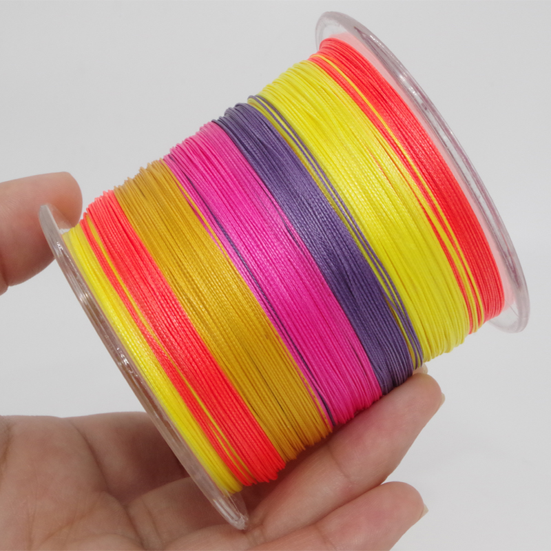 200lb  Super Strong 1000m 8 Strands   Japanese Braided Line Multifilament Polyethylene PE Braid Line Braided Fishing Line