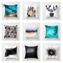 Fuwatacchi Abstract Art Painting Cushion Cover Cool  Soft Throw Pillow Decorative Sofa Case Pillowcase