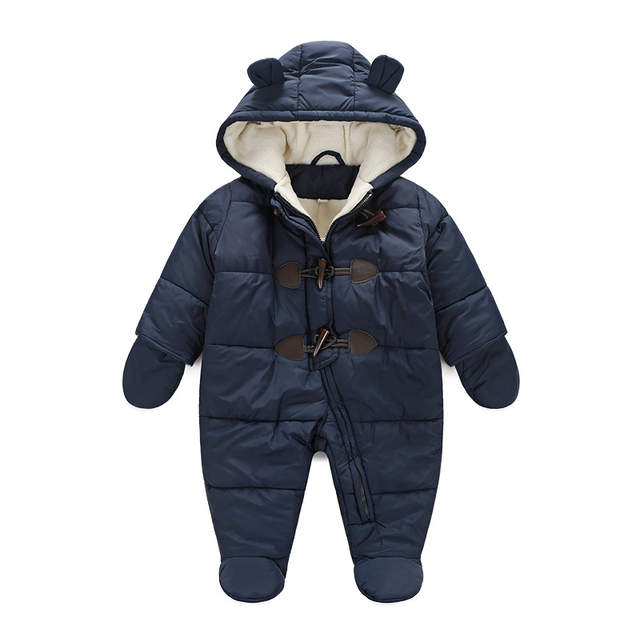 8e2197e55 Online Shop newborn baby winter clothes cotton thick warm Hooded ...