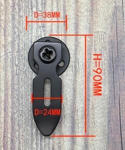 Image 2 - 2 adet/grup 38X90 MM. 2018NEW Retro Amerikan dolap kapağı tutacağı Demir Flanş Tabanı Mobilya Kanca Askıları