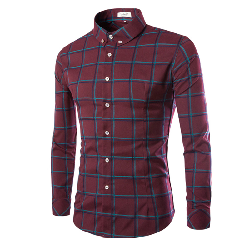 Compare Prices on Mens Red Plaid Shirt- Online Shopping/Buy Low ...