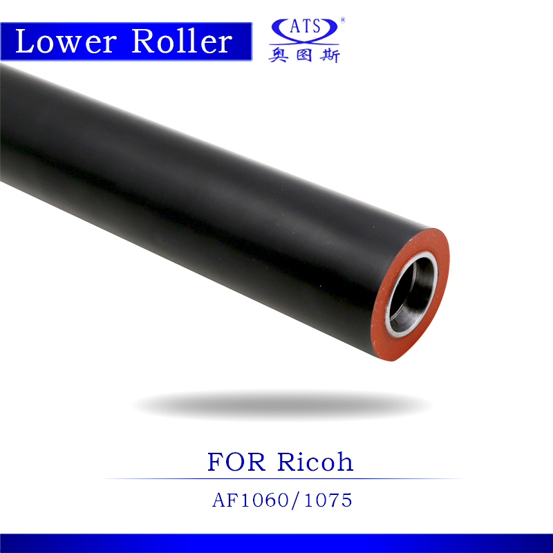 Lower Fuser Roller For Ricoh AF 1060 1075 Compatible Copier Spare Parts AF1060 AF1075 for Photocopy Machine photocopy machine pressure roller for canon irc3200 irc3220 irc3100 lower roller fuser roller copier parts 3200 3220 3100