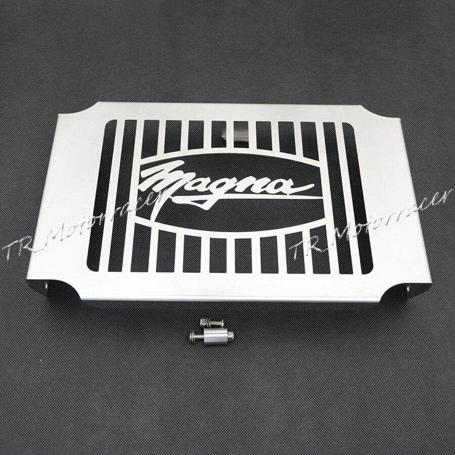 Мотоцикл стальной радиатор решетка гвардии Крышка для Хонда Магна VF750 1994-2003 2001 2002 моторные аксессуары