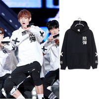 2017 BTS Bangtan Boys Active Sweatshirt Tracksuit The Spring Autumn Long Sleeve Hoodie Outerwears Hip Hop