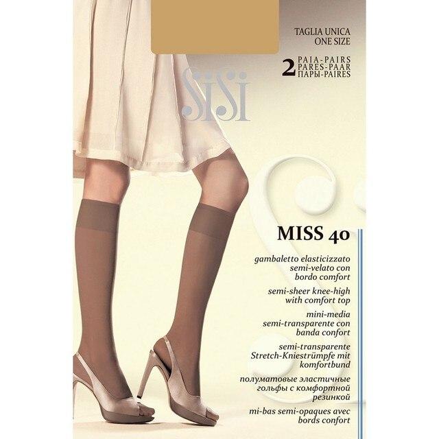 Гольфы женские Sisi gamb.MISS 40 NEW (2 пары)
