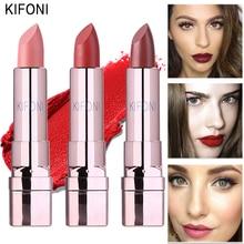 Marca KIFONI, maquillaje de belleza, Pintalabios mate de larga duración, tinte de labios, cosméticos, lápiz labial, maquillaje rojo batom