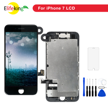 1PCS AAA Grade Full LCD Screen Display For iPhone 7 Plus Complete Touch Digitizer with Small Camera +Free Gifts
