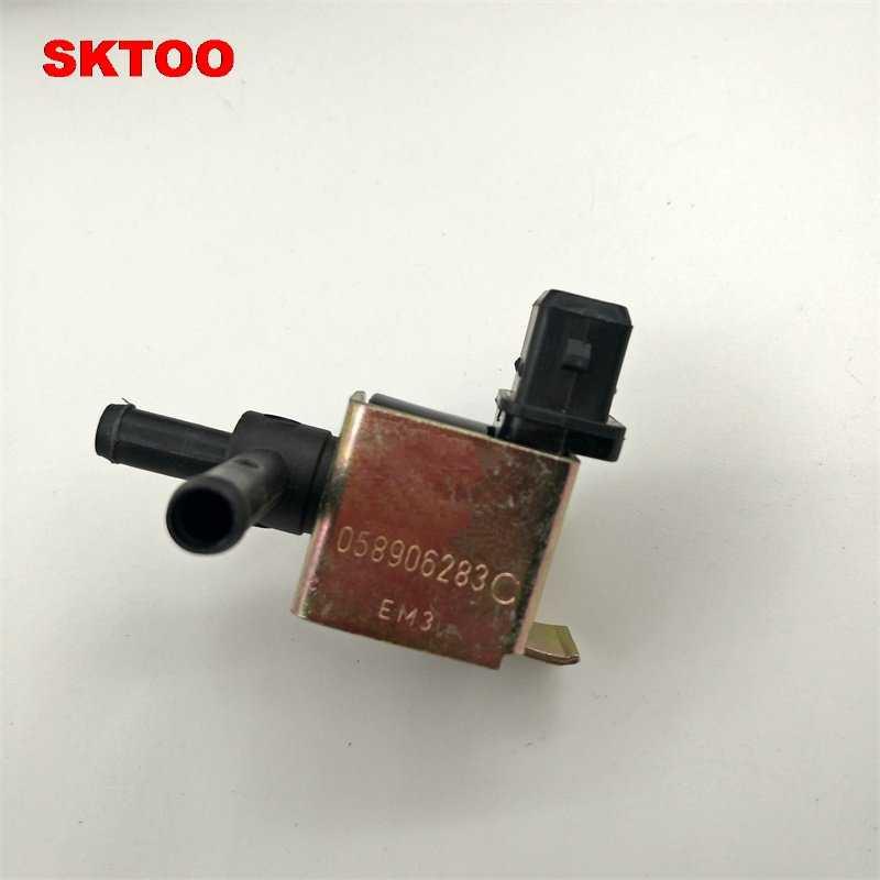 SKTOO N75 להגביר את שסתום הבקרה 058 906 283 C 058906283C תתאים לאאודי A4 S4 TT 1.8 T פולקסווגן פאסאט 1999 2000 2001 2002 2003 2004 2005