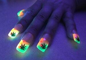 Image 5 - 12 couleurs néon couleurs Phosphorescent poudre lumineuse 10g lueur dans lart des ongles sombres acrylique coloré décoration des ongles