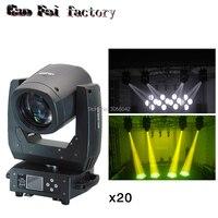 20PCS/LOT 150w Beam Moving Head Light 15R Osram DMX 512 8 Prism Zoom Spot Stage