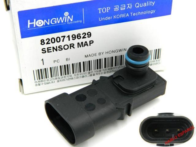 1 barra 8200719629 colector de presión absoluta mapa Sensor para RENAULT KANGOO CLIO ESPACE LAGUNA maestro MEGANE escénico TWINGO TRAFIC