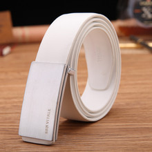 Business Men Luxury Leather Belt