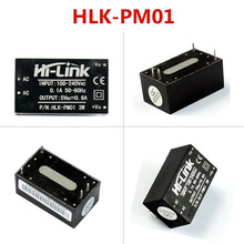 Module dalimentation isolé ac dc 220 v 5 v, HLK PM01 domestique intelligent, module dalimentation abaisseur à commutation