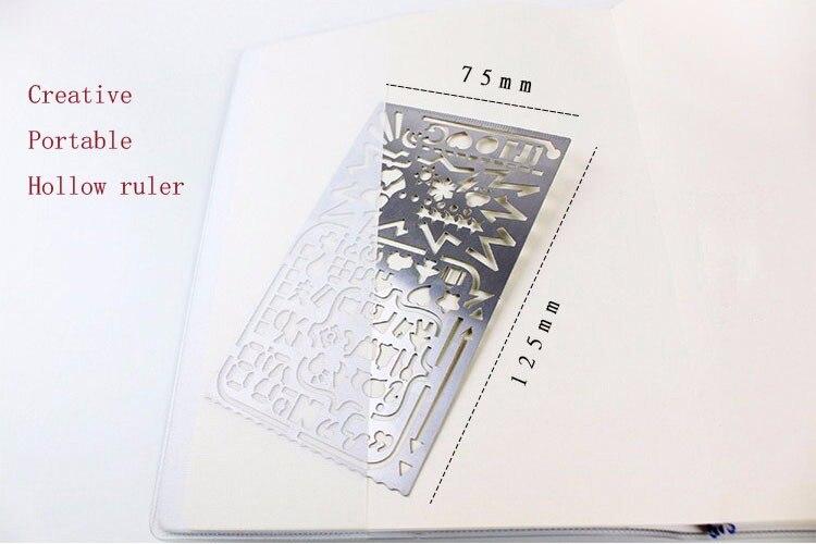 Kawaii Schöne Märchen Kreative Hohle Ultradünne Metall Lineal Lesezeichen Lineale Kursteilnehmerpreise Koreanische Kreatives Briefpapier Schule & Educational Supplies Office & School Supplies