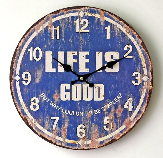 1 шт. Ретро Стиль синий часы Современный дизайн уютно цифровой Дартс настенные часы домашнего декора стен