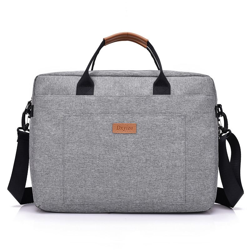 New Men Messenger Bags Male Polyester Men Bag Briefcase Big Capacity Men's Shoulder Laptop Bag Crossbody Bags Handbags Tote Grey mva genuine leather men bag business briefcase messenger handbags men crossbody bags men s travel laptop bag shoulder tote bags