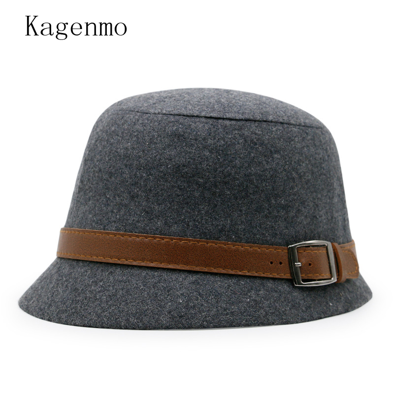 b456b6fc82477f Kagenmo Casual Autumn Female Fishing Bucket Hats Outdoor Fish Cap ...
