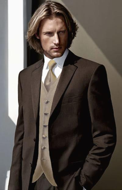 Popular Groom Brown Suit-Buy Cheap Groom Brown Suit lots from