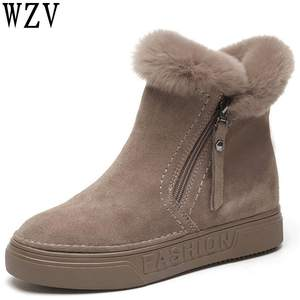 fe9808cd0be wzv Boots Female Winter Shoes Woman Snow Boots Ankle Boots