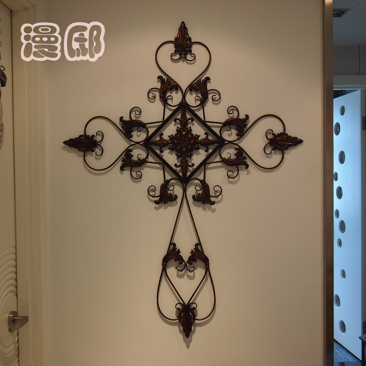 Fashion iron cross muons classic wall decoration iron-in Wall ...