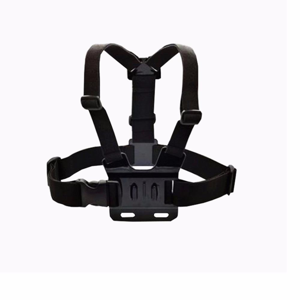 chest strap for SJCAM 5000+ for GoPro three Way stick