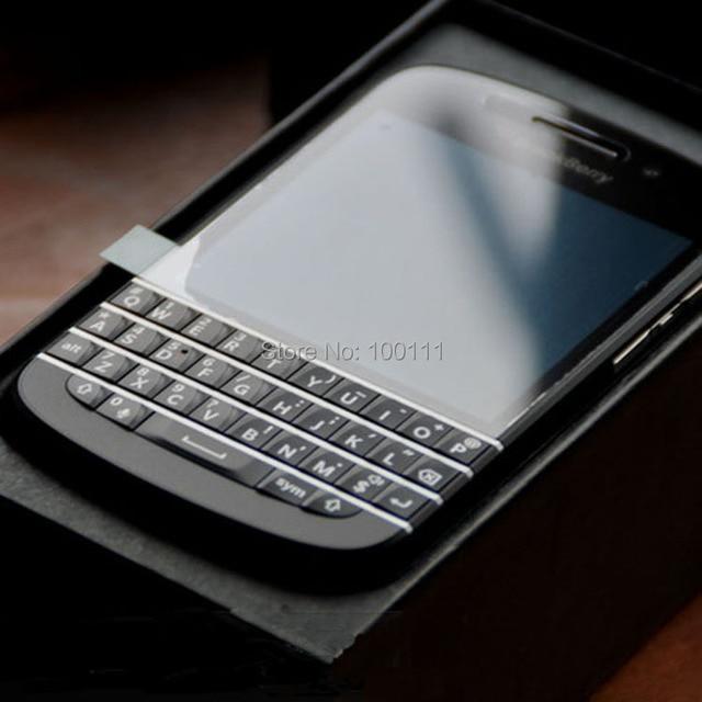96055dc6c6b BB Q10 teclado AZERTY Original desbloqueado Blackberry Q10 teléfono celular  8MP 2 GB RAM 16 GB