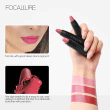 3 pcs Focallure Matte Lipstick Waterproof Long Lasting Lipsticks Tint Nude Cosmetics Lipstic Makeup Set Korean Fashion Kit Batom