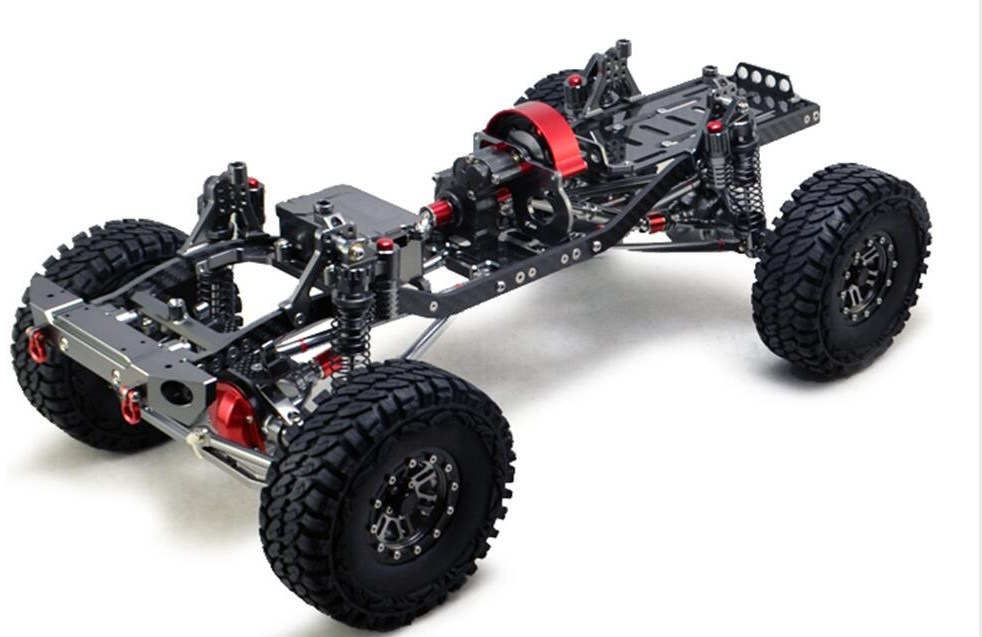 Body Frame W/Wheels Set for 1:10 Scale RC Crawler parts durable rc car defender frame set for