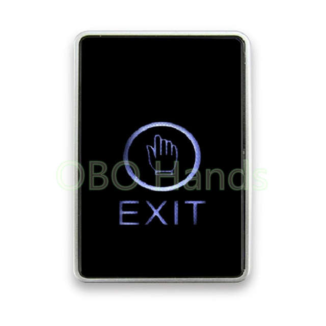 Free shipping LED touch screen Exit Button For Door access control system with LED Back light  sc 1 st  AliExpress.com & Free shipping LED touch screen Exit Button For Door access control ...