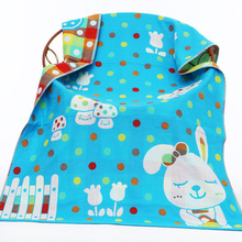 Spring Muslin Baby Bedding Blankets 3 Layers Gauze Cotton Newborn Swaddle Summer Soft Cartoon Rabbit Infant Bath Towel cobertor