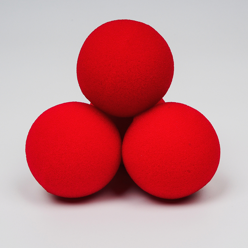10PCS 4.5cm Sponge Balls Finger Magic Tricks Props Close-UP Street Classical Illusion Stage Comedy Tricks Magic Balls 81398