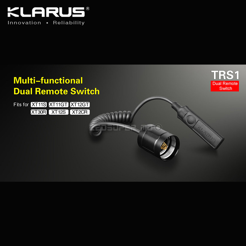 Flashlights Accessory Original KLARUS TRS1 Multi-functional Dual Remote Switch for Tactical Application