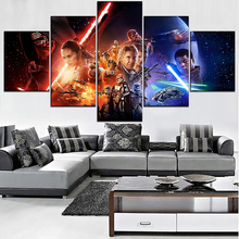 Canvas HD Prints Movie Character Poster Home Decor 5 Pieces Star Wars Paintings Landscape Pictures Wall Art Modular Framework