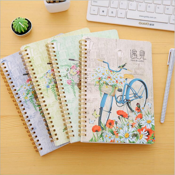 New arrivals notebook A5 Forest animal Various styles Coil book Diary 60 sheets Stationery Office accessories School Supplies in Notebooks from Office School Supplies