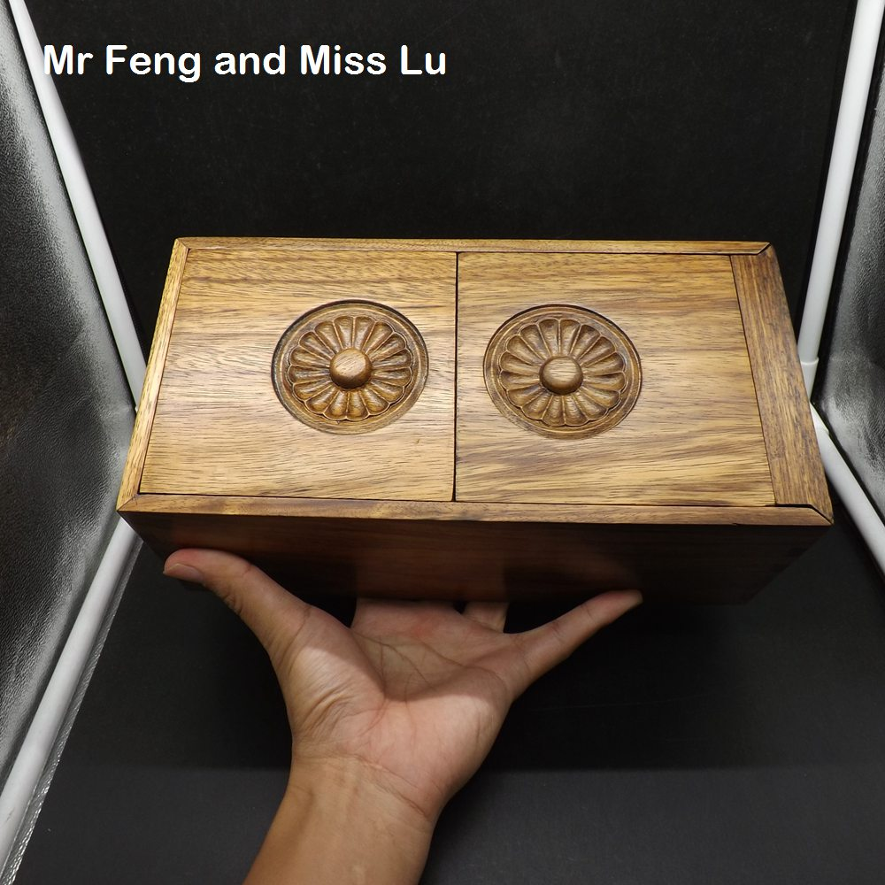 26 cm Elm Wood Magic Box Puzzle Special Mechanism Game Toy Brain Teaser Chinese Culture Characteristic Old Ancient Jewelry plywood