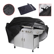 3-Sizes Waterproof BBQ Grill Black Barbeque Cover Rain Grill Barbacoa Anti Dust Protector Shield For Gas Charcoal Barbecue Bag недорого