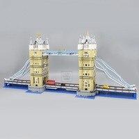New 17004 4295Pcs Creator Expert London Tower Bridge Model Building Blocks BricksToys Gift Compatible 10214
