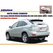 Cámara del coche Para Lexus RX330 RX350 RX400h RX 330 350 400 h 2004 ~ 2009/PAL Cámara de Visión trasera CCD HD RCA NTST Luz de la Matrícula OEM