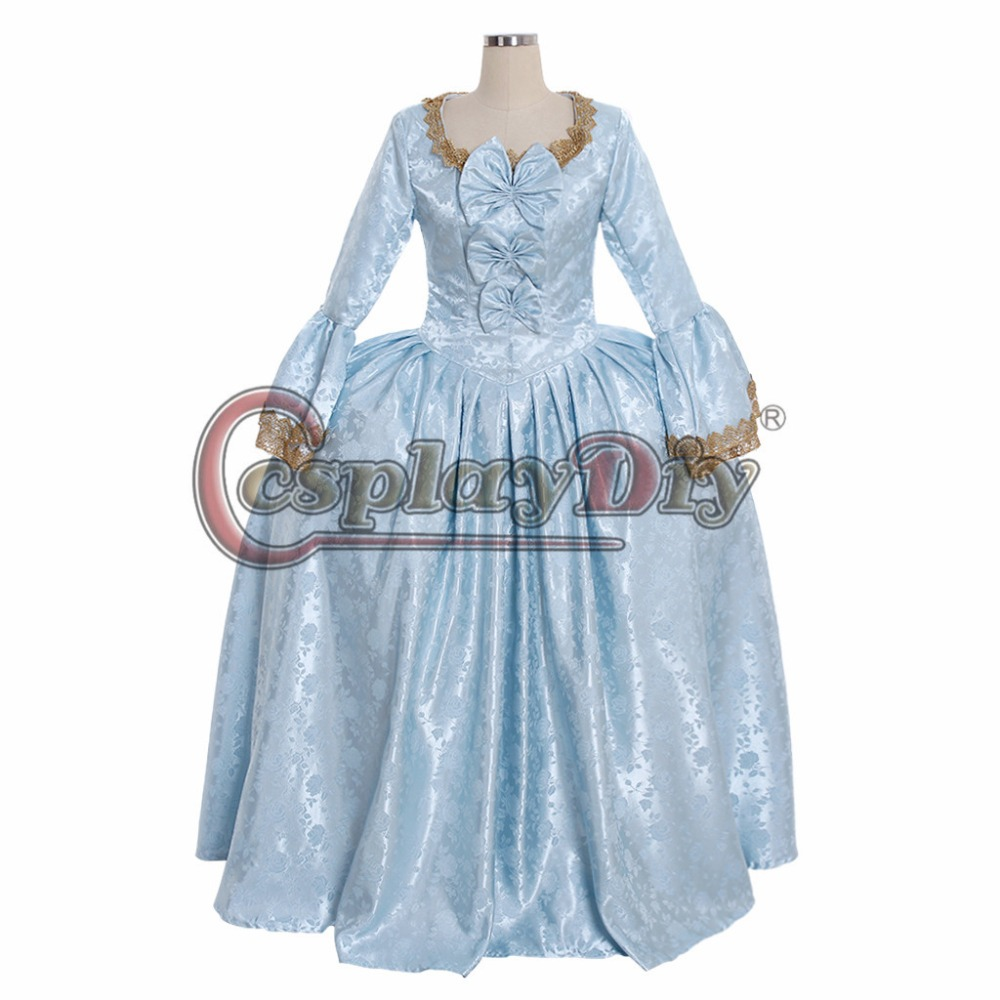 Home Cosplaydiy Custom Made 18th Century Rococo Ball Gown Dress Marie Antoinette Masquerade Fancy Belle Dress L320
