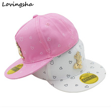 Fashion Boy Baseball Caps 3-8 Years Old Kid Character Design Snapback Caps High Qaulity Adjustable Cap For Girl CC059