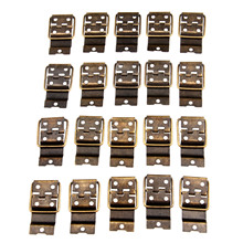 20Pcs Antique Bronze Cabinet Furniture Hinges Door Hinges Drawer Jewellery Gift Box Hinges For Furniture Hardware 38x21mm 100pcs 30 18mm antique bronze metal buckles latches catches wooden gift packaging floret jewellery box drawer cabinet door fix