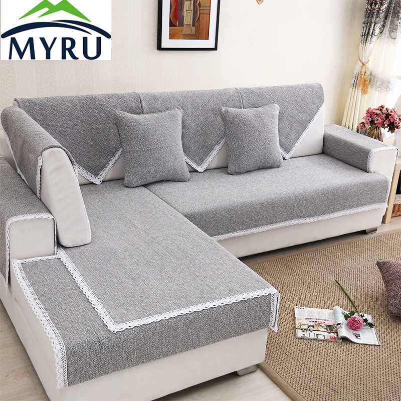 Myru Modern Hot Sale Sofa Covers Slip Resistant Sofa Towel
