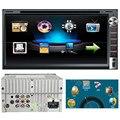 TOP Quility Tela Grande Android 6.95 polegadas Duplo 2DIN No Traço GPS Navi Carro DVD Player Bluetooth Stereo Auto Rádio #1209